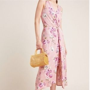 NEW Anthropologie Bailey 44 Pink Floral Dress